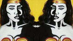 WONDER WOMAN POP ART MAKEUP TUTORIAL | DARLENE ABREU