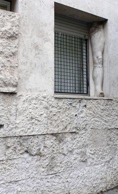 Architecture of Doom Luigi, Rome, Concrete Building, Famous Architects, Architectural Elements, Architectural Drawings, Facade Architecture, Built Environment, Construction