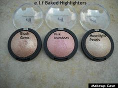 Makeup Case: e.l.f Baked Highlighters