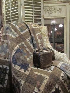Beautiful Neutral Quilt