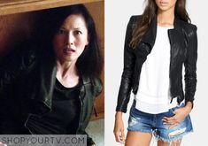 Noshiko Yukimura(Tamlyn Tomita) wears this faux leather jacketin this week's episode of Teen Wolf. It is theBlank NYC DenimFaux Leather Jacket. You [...]