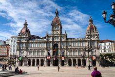 Prefeitura de La Coruña/La Coruña/Espanha