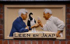 Gevelsteen LEEN EN JAAP   by Vereniging Vrienden van Amsterdamse Gevelstenen