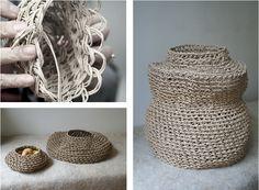 Korean paper weaving