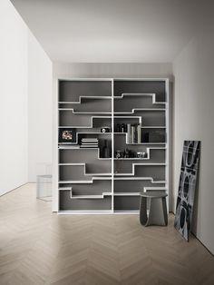 MDF bookcase MELODY by MDF Italia