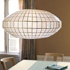 Great for lighting in the dining room
