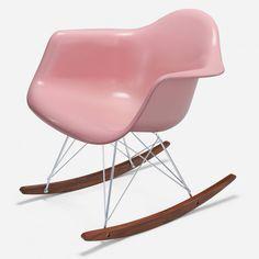Case Study® Arm Shell Rocker - Fiberglass Chairs - Seating - Modernica