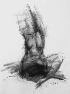 "Saatchi Art Artist Zin Lim; Charcoal Drawing, ""Allegro NO.12"" #art 