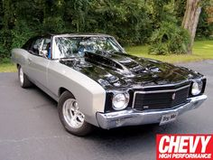 Check out these readers rides which features a 1966 Chevy Nova and a 1970 Chevy Monte Carlo, only at Chevy High Performance Magazine. Chevy Chevelle, Chevy Nova, Chevy Muscle Cars, Chevrolet Monte Carlo, Buick Riviera, American Muscle Cars, My Ride, Chevy Trucks, Hot Cars