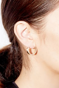 The Large Optical Earrings by SARAH & SEBASTIAN