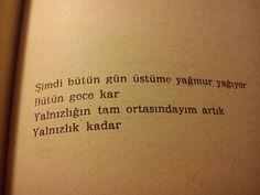 ~ Ümit Yaşar Oğuzcan