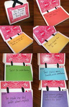 reason why u r my best friend deck of card | 52 reasons why i love you by RaheHeul