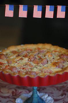 Chicago-style pizza o Deep-dish pizza (mi aportación al concurso de recetas norteamericanas de Tesa) - Bocados Divinos