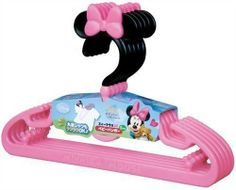 Disney Minnie mouse Baby hanger 5 pcs Pink From JAPAN J701 0850