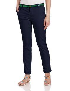 U.S. Polo Assn. Women's Loughlin Belted Cuffed Trouser.
