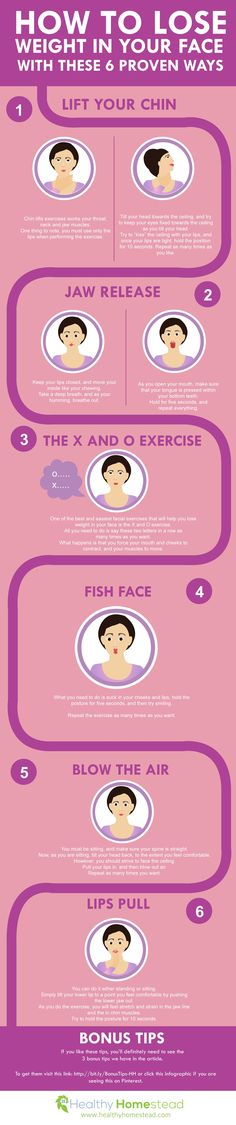 How to Lose Weight in Your Face With These 6 Proven Ways More