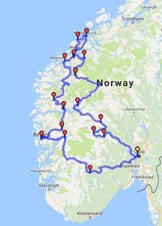 Norwegian Fjords Driving Tour: Independent Self-Drive Tour in Norway