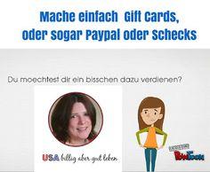 Wie bekommt man in der USA einfach kostenlose Gift Cards und mehr?