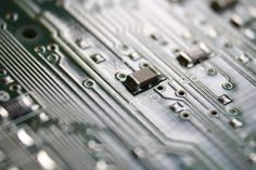 Computer Circuit Board Close Up - Free High Resolution Photo