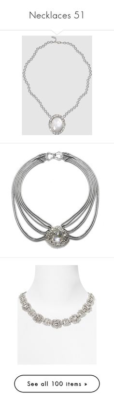 """""""Necklaces 51"""" by singlemom ❤ liked on Polyvore featuring jewelry, necklaces, clasp necklace, roberto cavalli, choker necklace, choker jewellery, roberto cavalli necklace, accessories, art deco and chokers"""