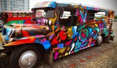 Street art on Manila Streets.