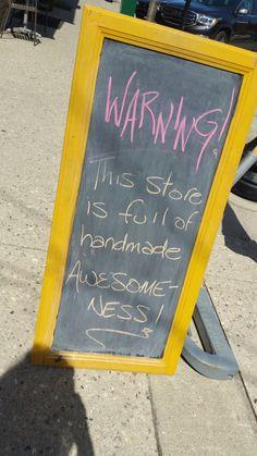 Craft Booth Displays, Store Displays, Display Ideas, Sidewalk Signs, Chalkboard Signs, Chalkboards, Retail Signs, Craft Stalls, Sandwich Board