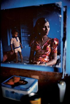 Photo By Mary Ellen Mark. Falkland Road, Mumbai. INDIA. 1978