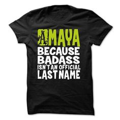 (BadAss1903) AMAYA Because BadAss Isnt An Official Last - #slouchy tee #hoodie casual. HURRY => https://www.sunfrog.com/Names/BadAss1903-AMAYA-Because-BadAss-Isnt-An-Official-Last-Name.html?68278