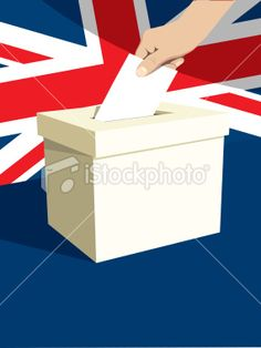 British Ballot Box Royalty Free Stock Vector Art Illustration