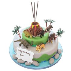 Boys Birthday Party Cakes Delievered Home Mail Order