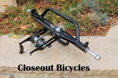 Golf Clubs Repurposed Bolt on to the rear of a bike and convert to a tricycle. Use hollow hub wheels. axle with fixed sprocket. Build A Go Kart, Diy Go Kart, Tricycle Bike, Adult Tricycle, Bicycle Pedals, Bmx Bicycle, Motorized Trike, Quad, Bicycle Tools