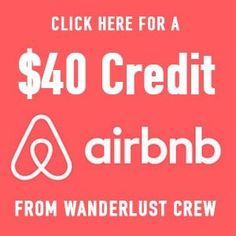 Save $40 on your first Airbnb booking!