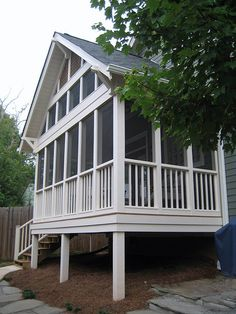 Spectacular sought porch design backyard See pricing Front Porch Seating, Small Front Porches, Outdoor Seating Areas, Screened In Porch, Outdoor Spaces, Outdoor Living, Porch Kits, Porch Ideas, Back Porch Designs