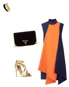 """""""semira collections"""" by semiragoletic ❤ liked on Polyvore featuring beauty, Victoria, Victoria Beckham, Michael Kors and Prada"""