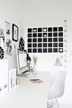 home office space design work flow organization