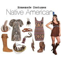 Halloween Costume Idea - Native American, Indian Maiden