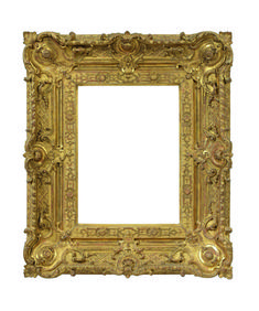 A frame acts as a display case for a canvas and no old master painting can be imagined without one. Therefore Paris Tableau has invited two antique frames dealers: Montanari Gallery of Paris and Enrico Ceci of Formigine.  French Régence frame of carved and gilt oak, 26 x 36 cm / Montanari Gallery