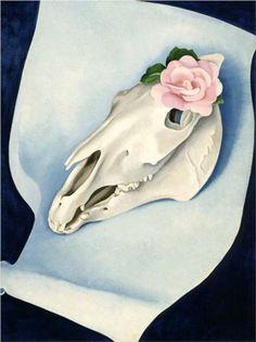 Horse's Skull by Georgia O'Keeffe