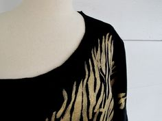 WobiSobi: Zebra Off the Shoulder Sweatshirt, Weekend DIY.