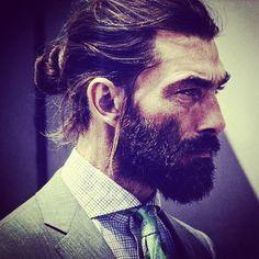 Bearded.