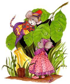 Ilustrace, Clip Art, Struktura, Gify, Susan Wheeler, Králíci, Souvenirs, Počítačová Myš, Dětství