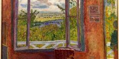 """Pierre Bonnard, """"Fenêtre ouverte sur la Seine"""" (Vernon) 1911/12. Musée des Beaux-Arts de Nice"""