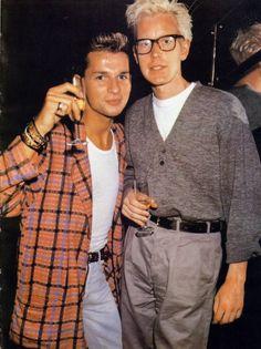 Depeche Mode, Dave Gahan, Andy Fletcher
