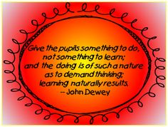 john dewey education reform