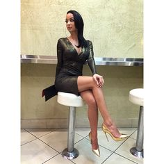 Draya Michele in a classy black dress. related topics: Draya Michele style, Draya Michele fashion, outift, look, shoes, sexy, photos