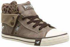 Mustang shoes bruine top sneaker 1209501-308