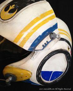 Pilot Helmet Side