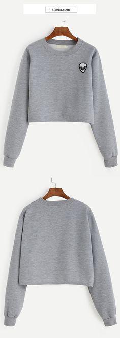 Cute sweatshirt for school. Comfy & stylish with leggings & sneakers!