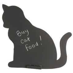 Sass & Belle Chalk Board - Cat: Image 1