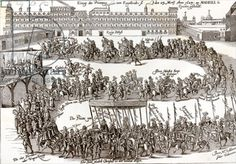 Entry of Prince Charles (later Charles I of England) into Madrid, 1623 (engraving)